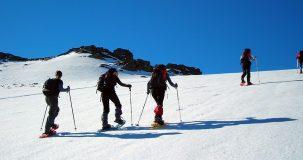 Rutas con raquetas de nieve en Ezcaray
