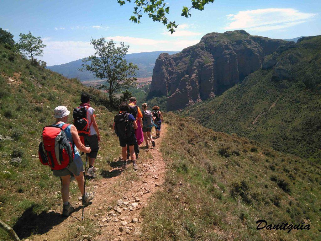 Peñas de Tobia en La Rioja