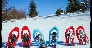 Alquiler de equipo completo de raquetas de nieve en ezcaray