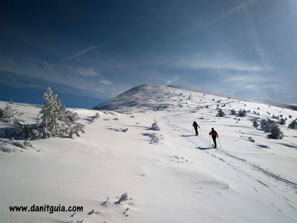 Esquí de travesía en Ezcaray