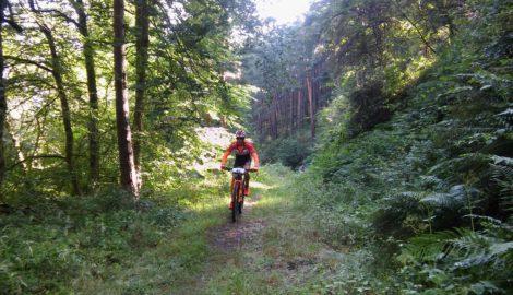 La travesía Valdeminochi, una de las mejores rutas en btt