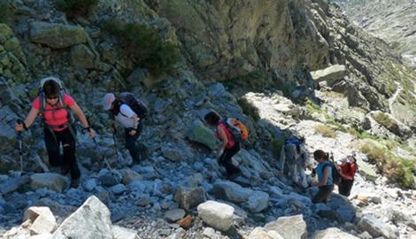 PICO DE LA MIRA DESDE GALAYOS (2.343 m)
